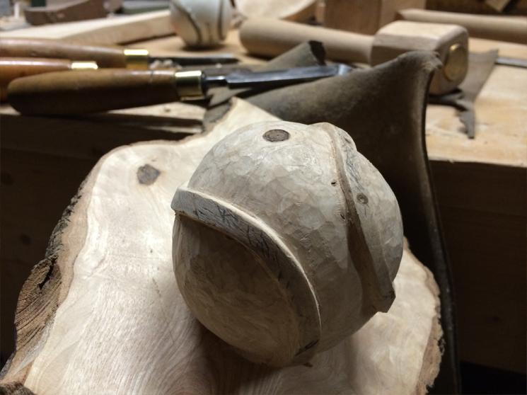 Sliotar Carving