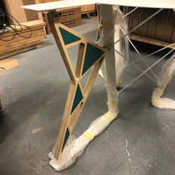 Fretwork Table Leg Detail