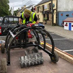 Ahascragh Mill Wheel by Billy Moore Metal Works 7