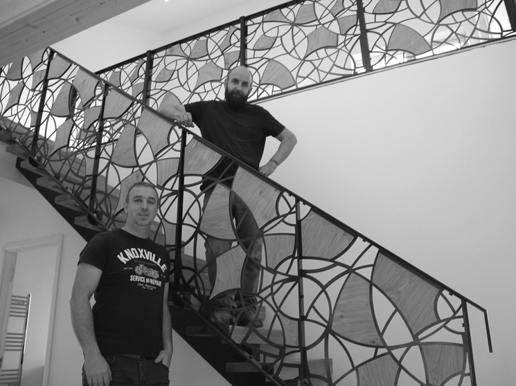 Steel Stairs With Billy Moore