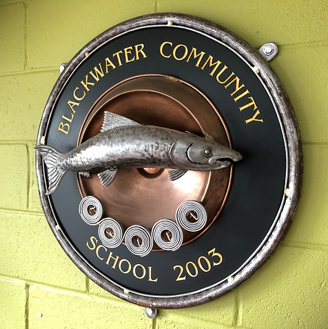 Blackwater School - Wall Plaque by Billy Moore