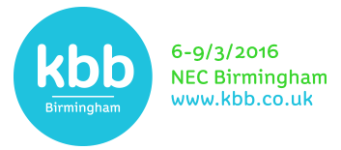 Curve Craft at KBB Birmingham 2016