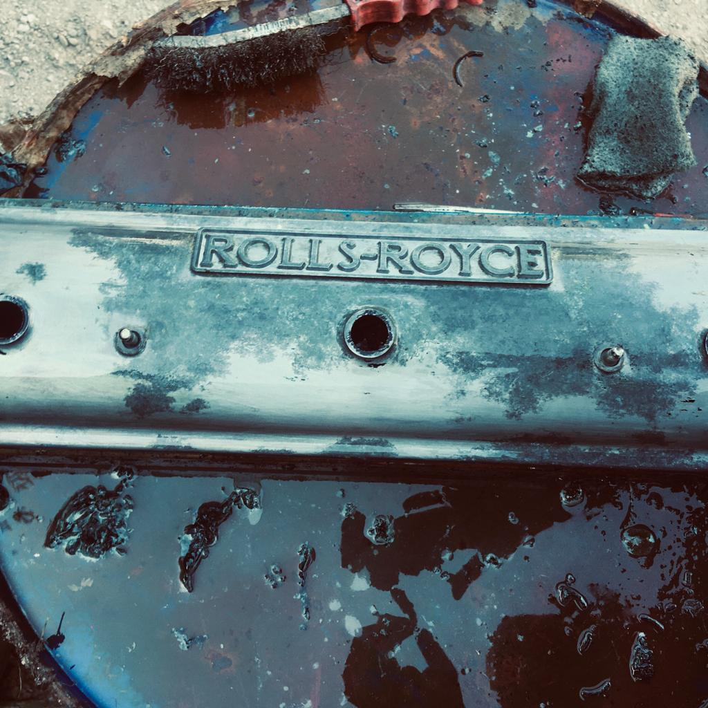 Upcycling Rolls Royce Parts by Billy Moore Metal Works