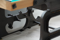 Weighing Scales Table Detail 2 by Billy Moore