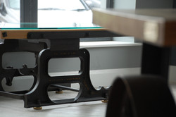 Weighing Scales Table Detail by Billy Moore