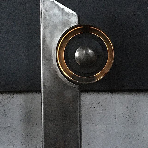 Illuminated Post Box - Billy Moore Metal Works
