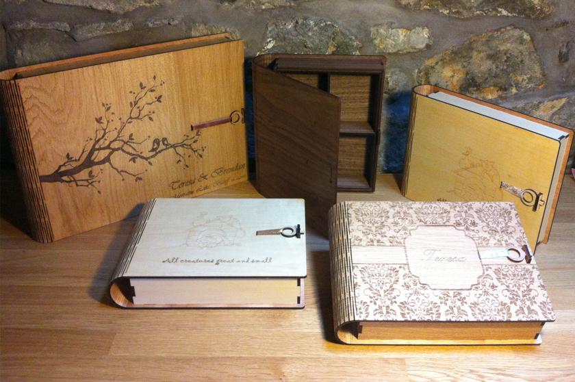 Keepsake Book Boxes