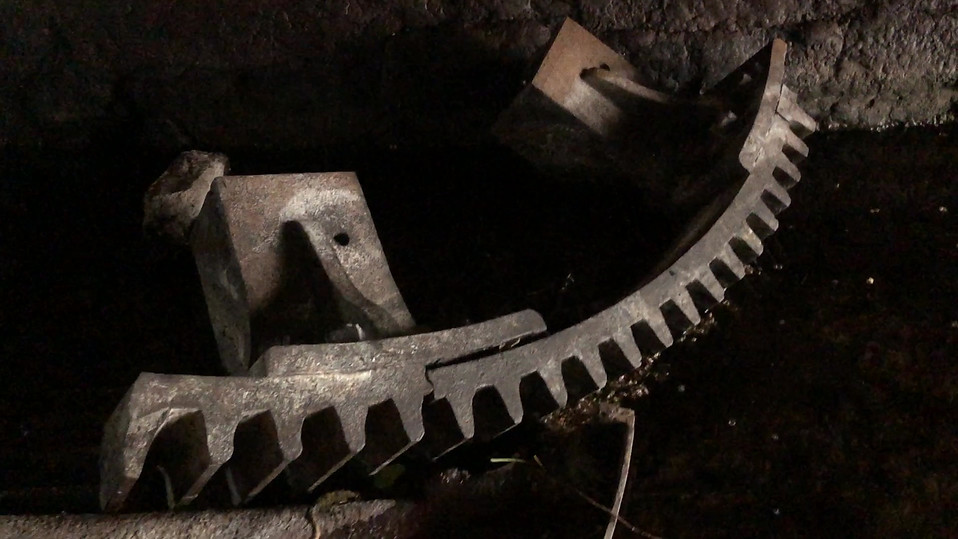 Finding the Ahascragh mill wheel missing parts.mov