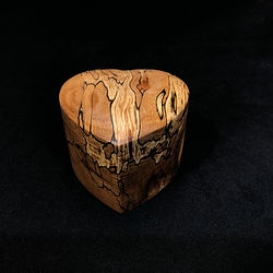 Spalted Beech Ring Box
