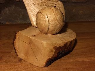 Brendan O'Donnell Design, Solid Burr Ash Carving
