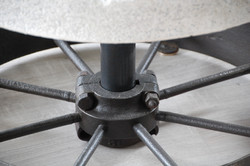 Millstone Table Detail by Billy Moore