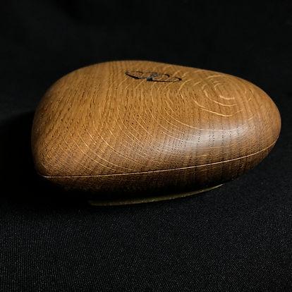 Pepple heart shaped wedding box