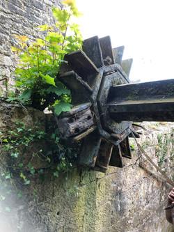Ahascragh Mill Wheel by Billy Moore Metal Works 5