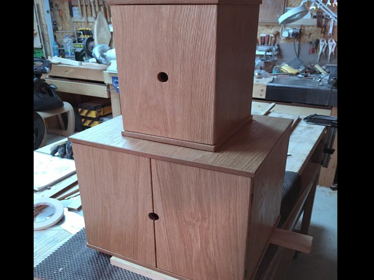 Custom Solid Oak Boxes
