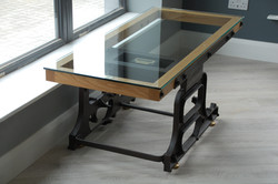 Weighing Scales Table by Billy Moore