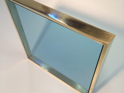 Brass Frame with Stained Glass
