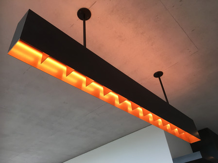 Steel Feature Light