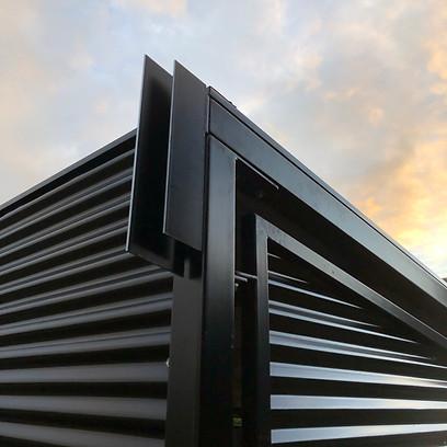 Blackwater School Shelter by Billy Moore Metal Works