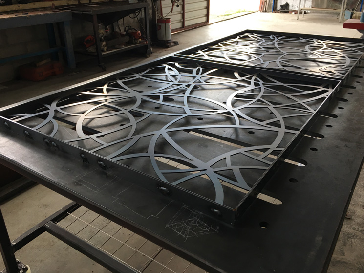Steel Stairs Fabrication 01