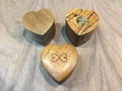 3 Wedding Ring Boxes