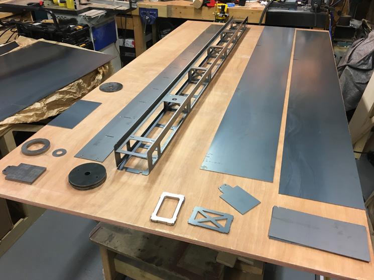 Plate Steel Light