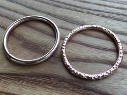 Wedding Album Copper Binding Rings