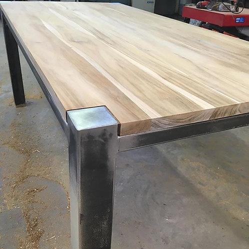 Steel Frame Kitchen Table