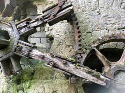 Ahascragh Mill Wheel by Billy Moore Metal Works 3