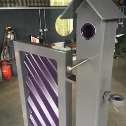 Bird House Corrie Gate - Purple
