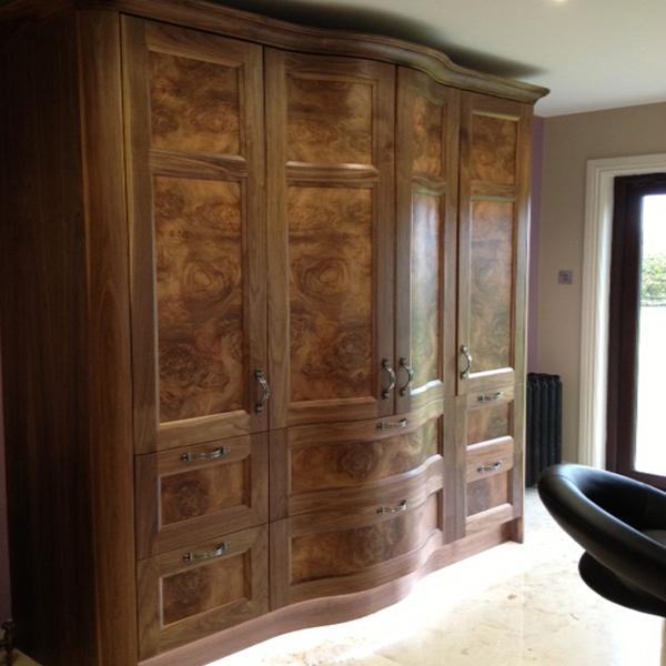 Curved Kitchen Larder Doors & Drawers