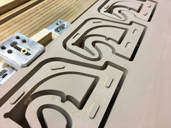 CNC Parts in HDPU @themakershed