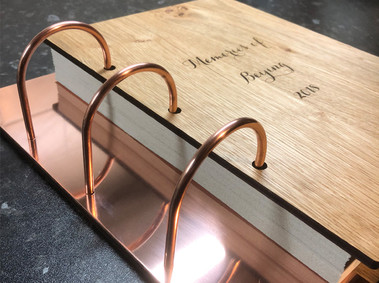 Copper & Oak Memory Album