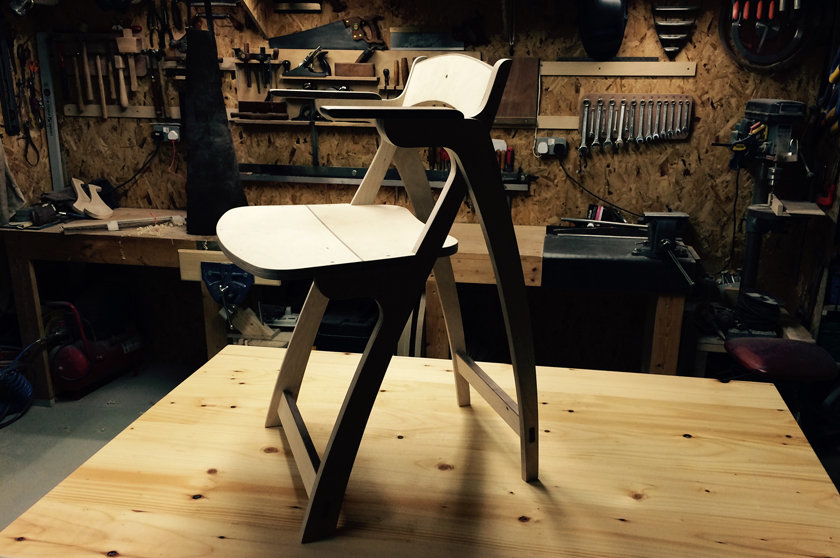 Brendan O'Donnell Design - Ply Wood Chair Prototype