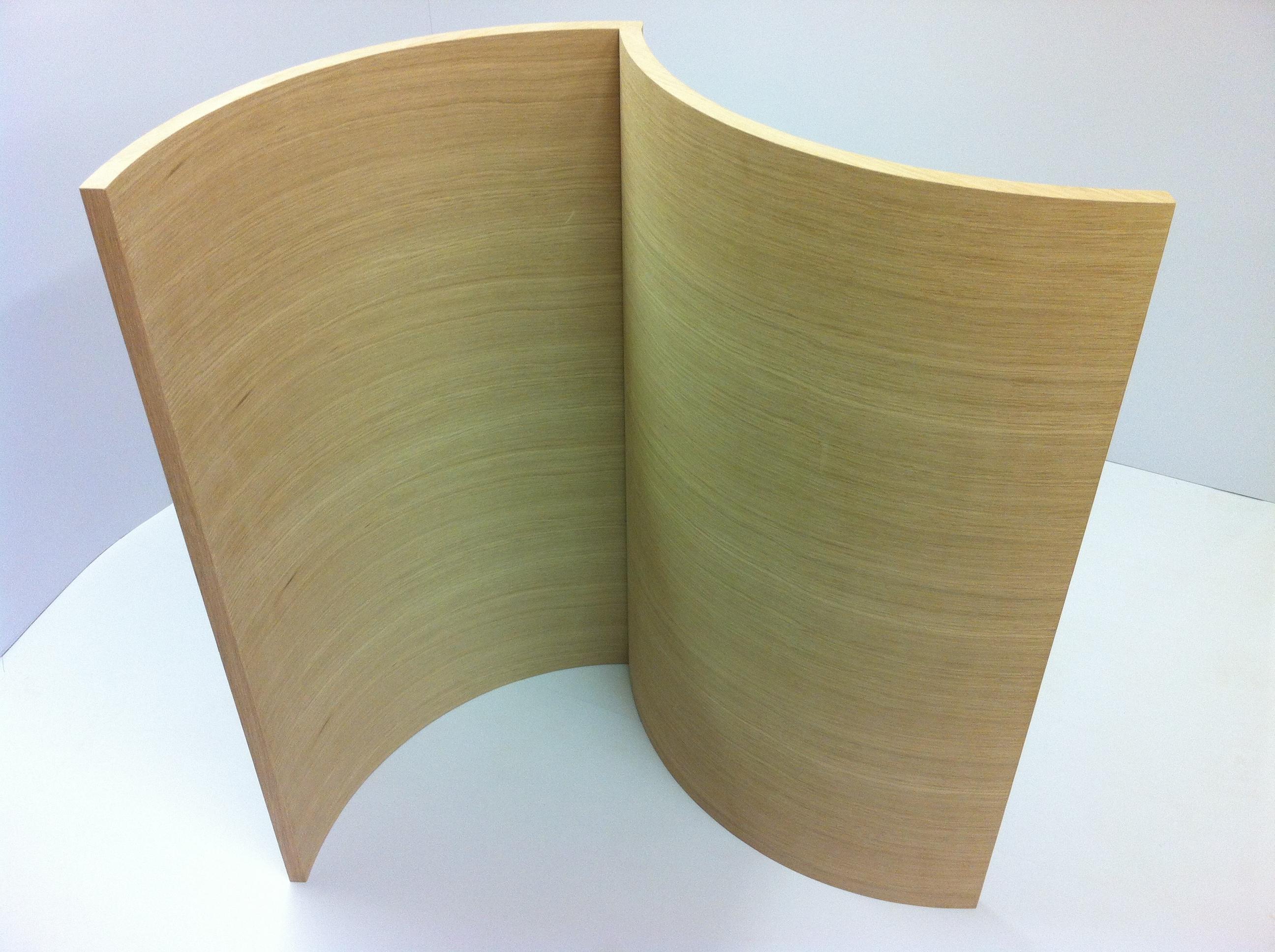 Veneer Slab Doors by Curve Craft