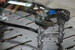 Spanner Coffee Table by Billy Moore Metal Works