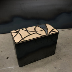 Fretwork Art Coffee Table