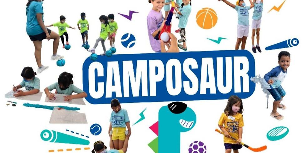 Virtual June Holiday Camposaur 7th - 11th June [Age: 4 - 10YO]