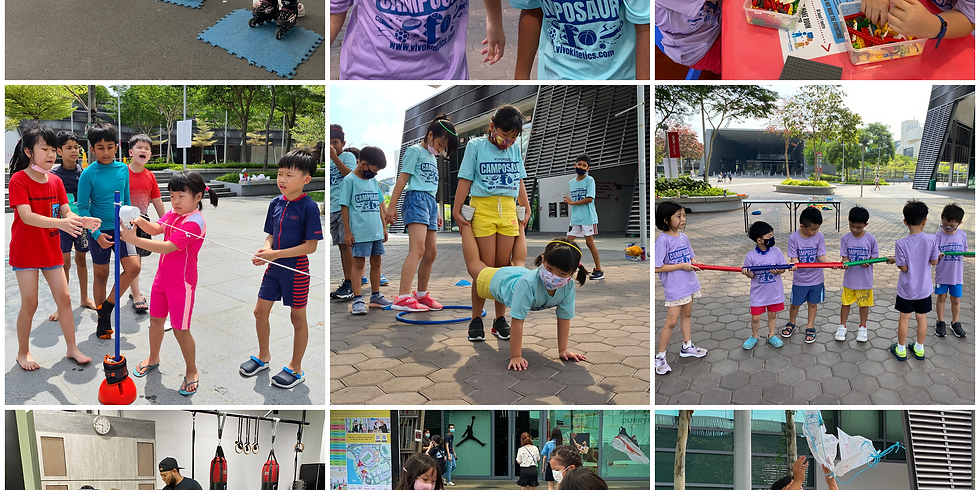 Vivo Kids Holiday Camposaur 26th - 30th July 2021 [Age: 3.5 - 10 YO]