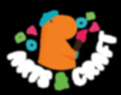 Website Elements_Orange Dino with elemen