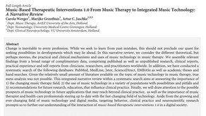 Music Therapy and Technology 1.0