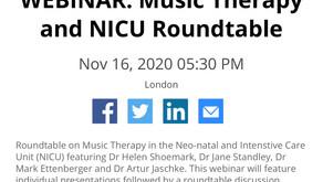 Webinar: Music Therapy and NICU
