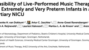 Feasibility of Live-Performed Music Therapy in a Tertiary NICU