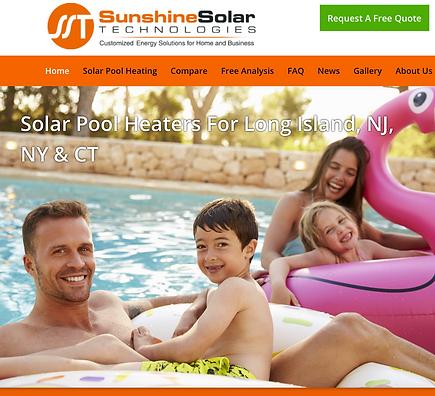 Sunshine Solar Technologies Website/Ecomms/Social Media