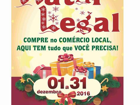 """ACINT promove 2º Edição da campanha """"Natal Legal"""""""