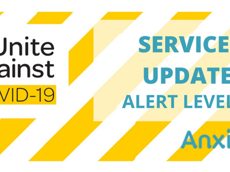 SERVICES UPDATE – COVID-19 ALERT LEVEL 3