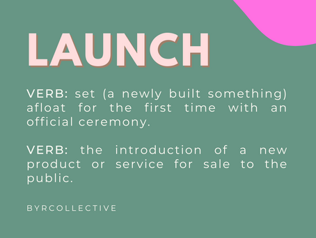 How to successfully launch a new product!