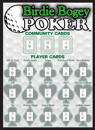 Birdie Bogey Poker Actual Product Front