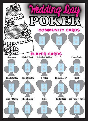 Wedding Day Poker: Make the happy couple some money!!