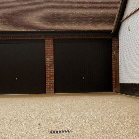Residential driveway, Surrey