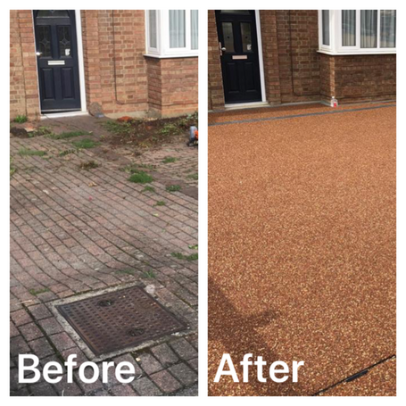 Residential driveway, Staines